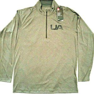 Under Amour Pullover Mens Large Gray Velocity 2.0